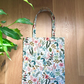 Natural Floral Herb Garden Amalfi Collection Canvas Tote Bag - Rifle Paper Co.