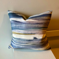 Watercolour Seascape Cushion
