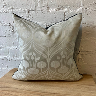 Large Charles Rennie Mackintosh Cushion with Velvet Back