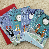 Pack of 4 Christmas Cards