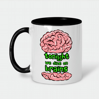 Brain Burger Ceramic Mug