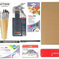 STUDENT ART KIT - Comprehensive Branded Product Kit In a Handy Bag