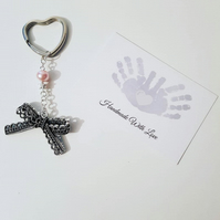 Beautiful Bow Keyring
