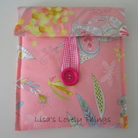 Pink Dragonfly Tablet Cover