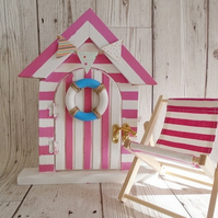 Beach Hut Fairy Door