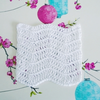 White Cotton Facecloth