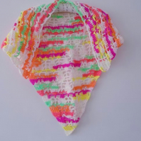 Neon Triangle Scarf