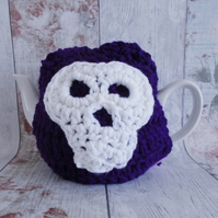 Purple Skull Tea Cosy