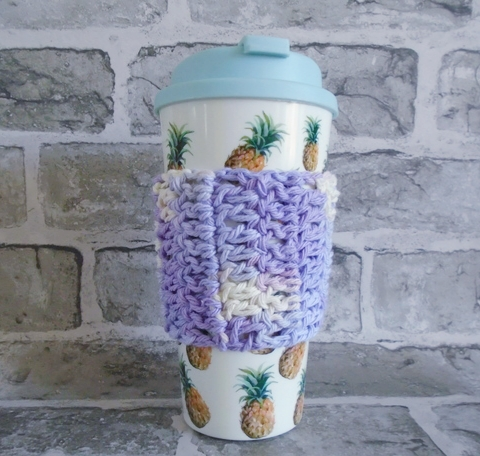 Lilac Cotton Cup Cosy