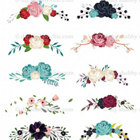 Furniture Wood Decal Vintage Image Transfer Antique Label Flower Scroll Diy
