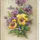 Furniture Wood Decal Vintage Image Transfer Antique Pansy Diy