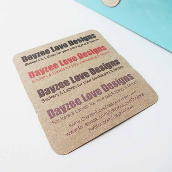 Rustic Business Cards - Save The date - Custom Gift Tags - Thanks You Cards