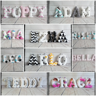 Baby Stuffed Fabric Letters, Wall art, Nursery decor, Personalised Baby name