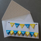 Happy Birthday Bunting Lift the flap personalised card
