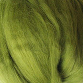 Merino Wool tops fibre, chartreuse green roving 100g Needle wet felting spinning
