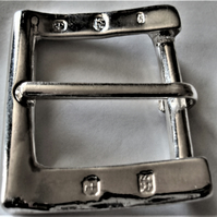 "The ""Shaftesbury"" Solid Silver Belt Buckle"