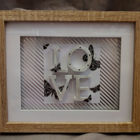 Love box gift frame
