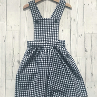 Girls Gingham Jumpsuit - Girls Culottes