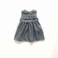 Girls Summer Dress in Gingham - Sizes 1-8 Years