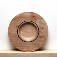 London Plane hand-turned wood bowl, 25cm x 3.5cm (approx.)