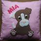Handmade Puppy Nursery Cushion