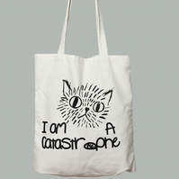 I'm A Catastrophe - Cat Tote Bag