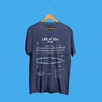 Life At Sea - Graphic Design T-Shirt