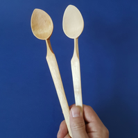 Roma style wooden cooking spoon