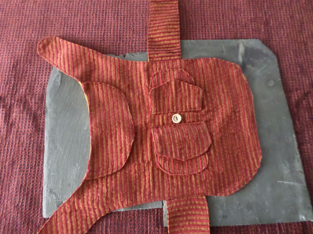Handmade dog jacket