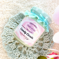 Candy Clouds Pure Soy Wax Candle.