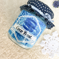 Coco Frost Pure Soy Wax Candle.