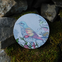 LARGE BLUEBIRD COASTER - TABLE CENTRE