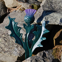 SCOTTISH THISTLE HANGER - GARDENING GIFTS - FLOWER OF SCOTLAND