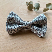 Liberty Wolves Wolf Print Bow Tie Boys
