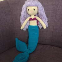 Pretty crochet mermaid