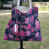 Floral Tote, Unique, a Gift For Her.