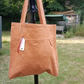 Cotton Tote, Terra Cotta Bag, Gift For Her.