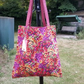 Floral Tote Bag, Unique, a Gift For Her.