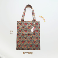 Floral Tote, Free P&P UK . Overseas POA
