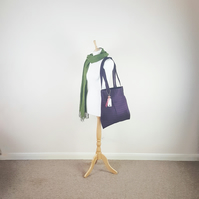 Navy Tote, Free UK Delivery.