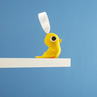 Yellow Canary bird hanging decoration