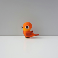 Bright coloured cute bird ornament
