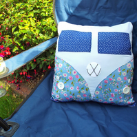 VW split screen camper van cushion