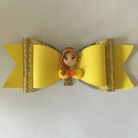 Belle inspired bow