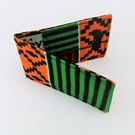Cotton Fabric Oyster Card Multi Purpose Holder