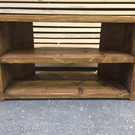 Hand Made Solid Wood  Corner Tv Stand - solid wood