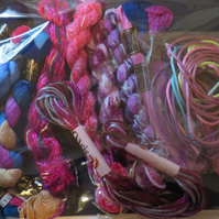 Hand Embroidery Thread Collection A4  x 15  Hanks Ref FY401