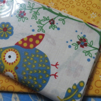 Fabric Fat quarter cotton 3  Ref FY422