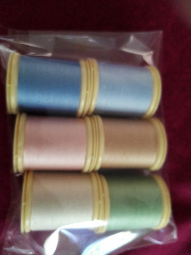 Sewing Thread Cotton Fabrique en france 100% Cotton 6 100mts Ref FY493