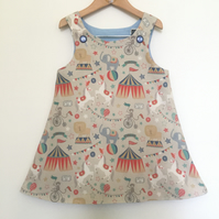 Circus 3 year-old Reversible dress